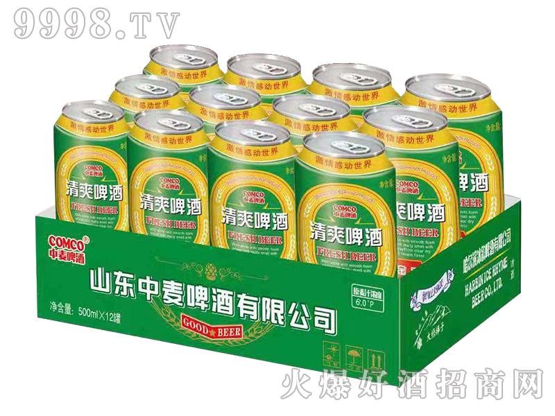 中麦啤酒-清爽500mlx12