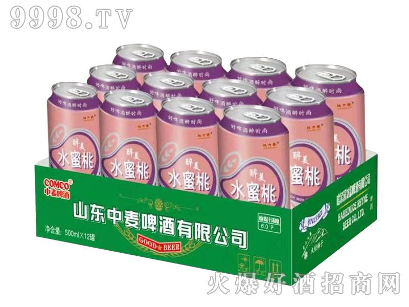 中麦啤酒-水蜜桃500mlx12