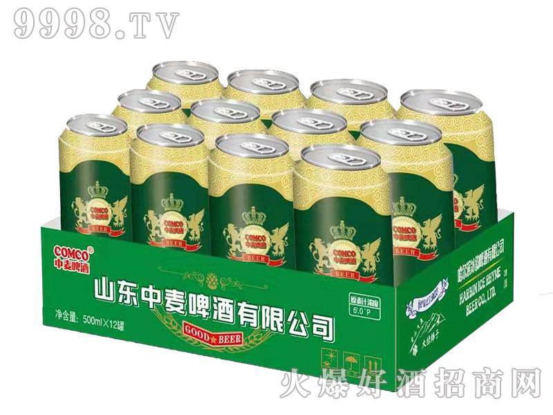 中麦啤酒-优质500mlx12