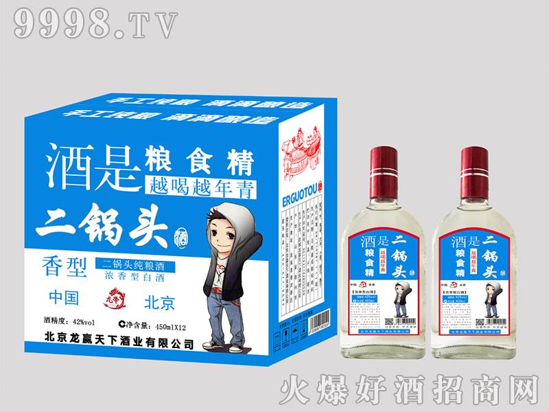二锅头纯粮酒450ml