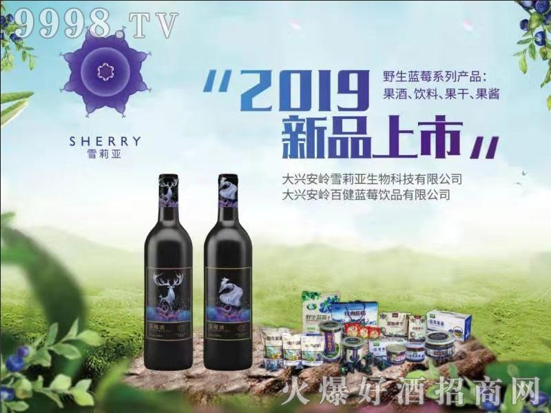 雪莉亚蓝莓酒海报-保健酒招商信息