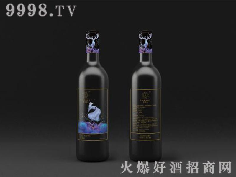 雪莉亚蓝莓酒12°
