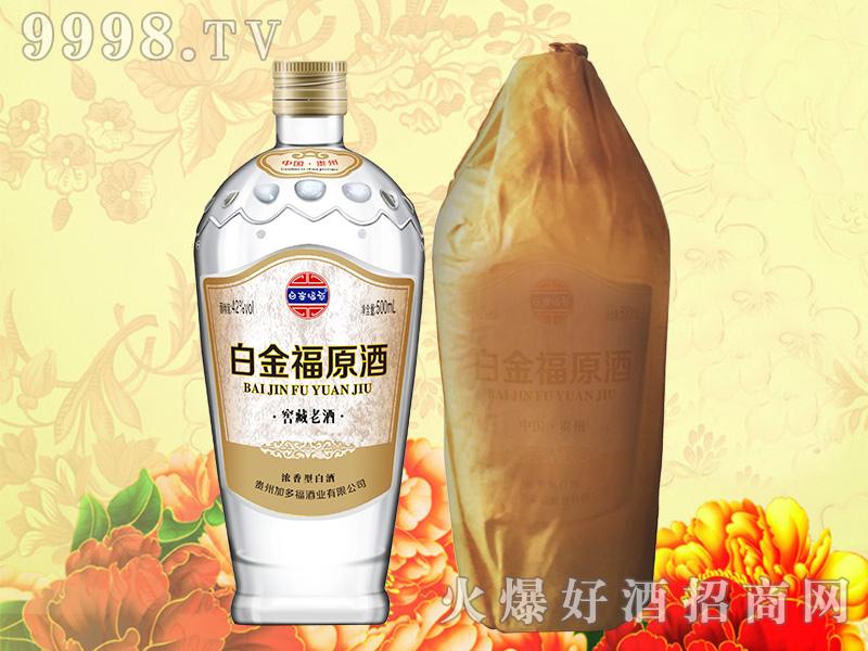 白金福原酒-窖藏老酒
