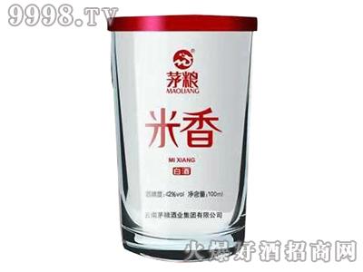 茅粮米香白酒 100ml