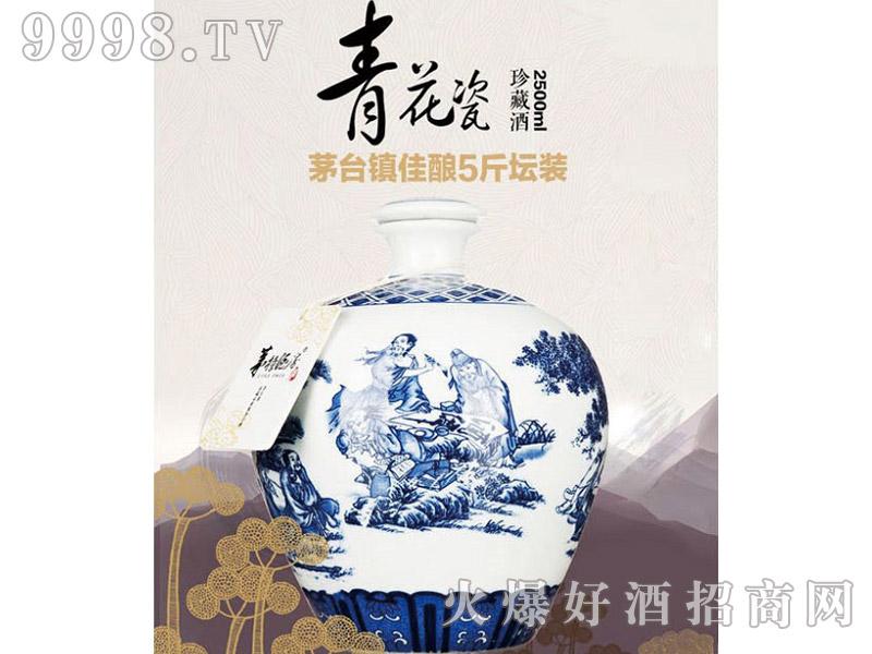 天子青花瓷坛酒