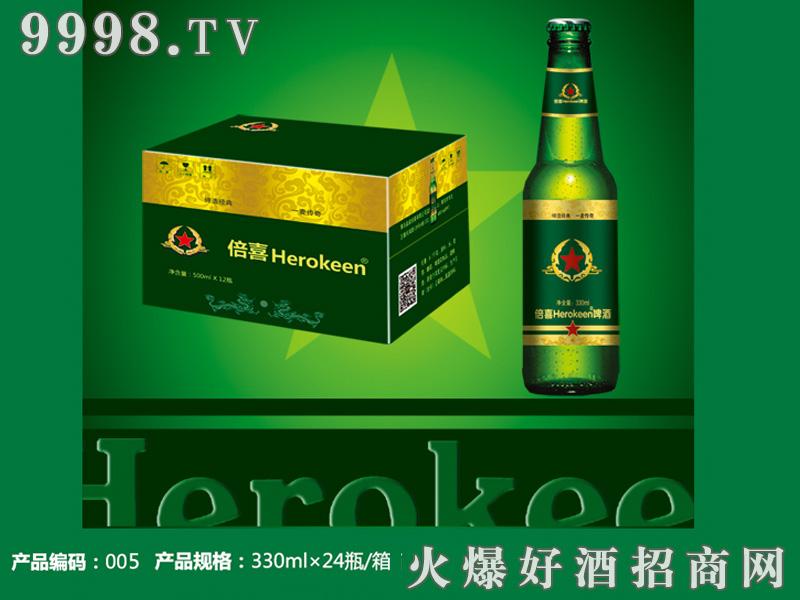 倍喜Herokeen方标 330ml精酿瓶装