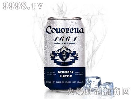 德芽1661啤酒330ML六连包