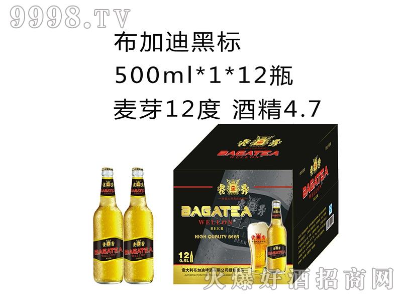 布加迪黑标500MLx1x12瓶