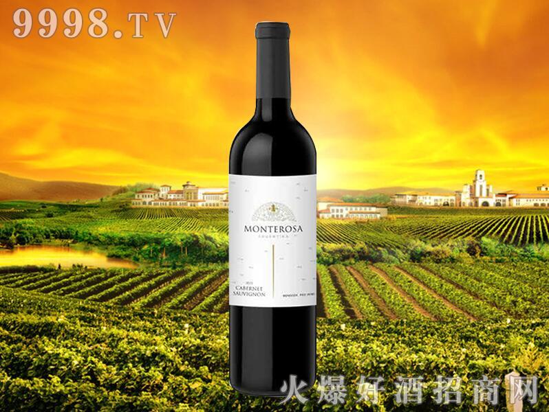 招商产品:蒙特罗萨赤霞珠干红葡萄酒%>&#13招商公司:樽林世家庄园红酒有限公司