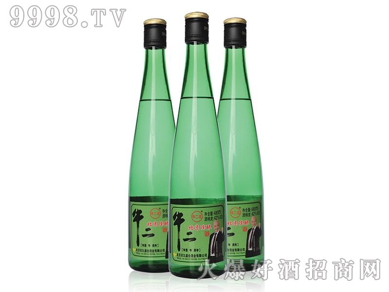牛二北京陈酿绿瓶