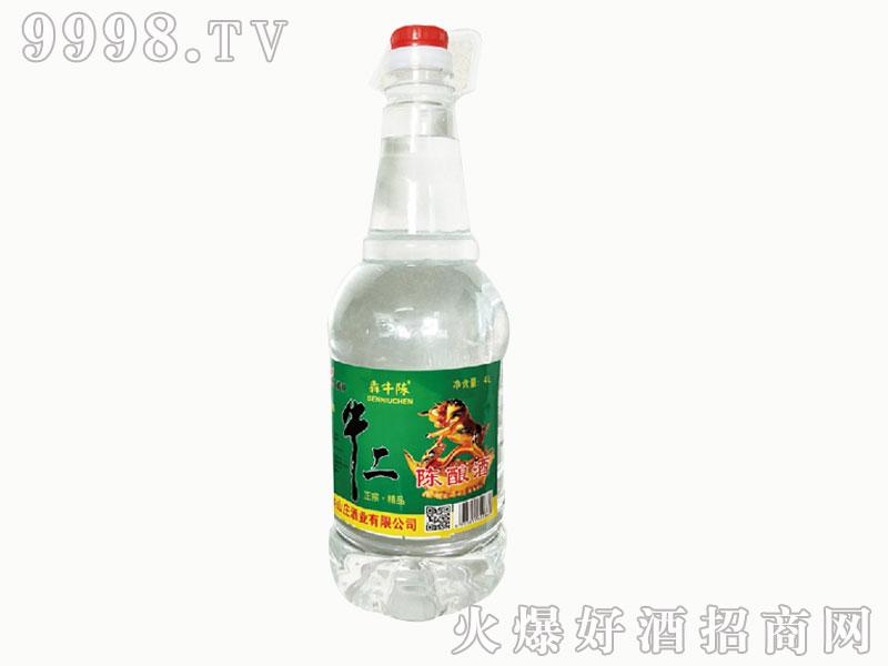 牛二陈酿酒 4L