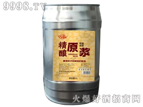 精酿原浆千赢国际手机版 5L(1*4桶)桶装