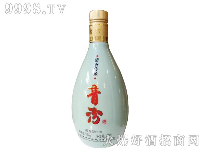 青汾酒-青瓷瓶