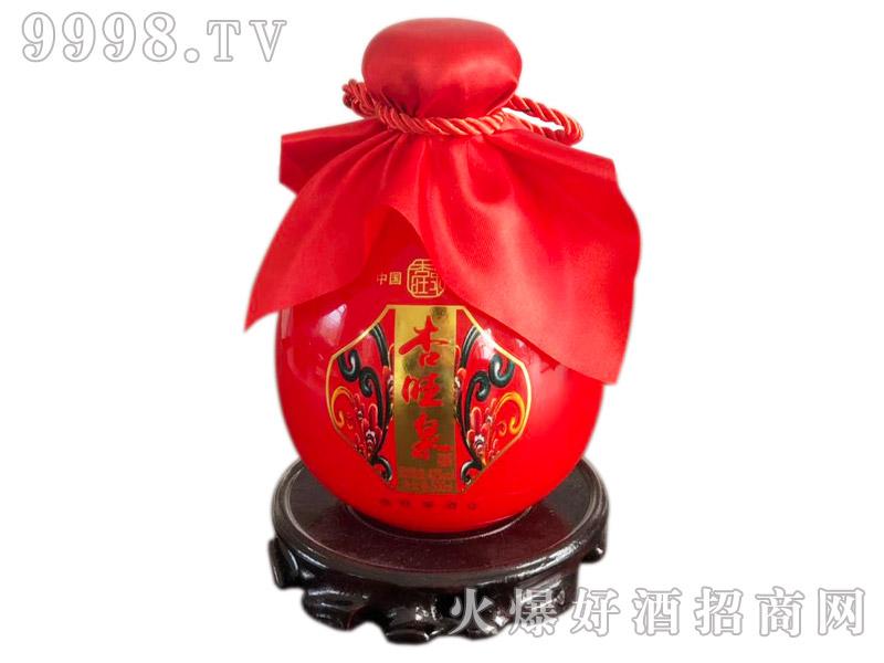 杏旺泉酒红瓶