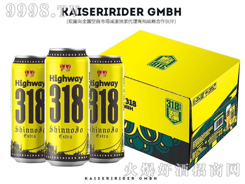 加世伯爵318公路精酿啤酒 500ML