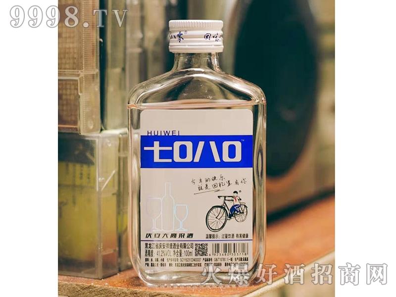 回味7080庆安大高粱酒100ML