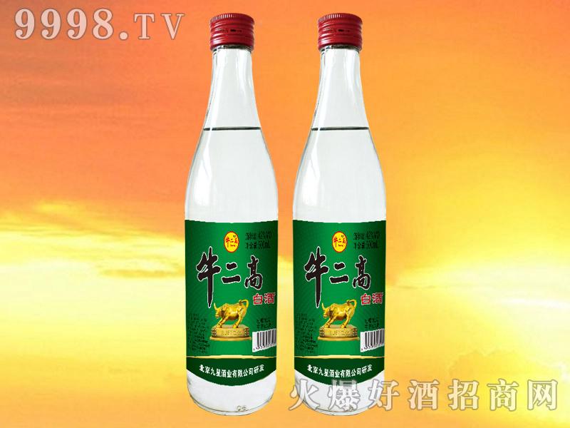 牛二高白酒42°500ml