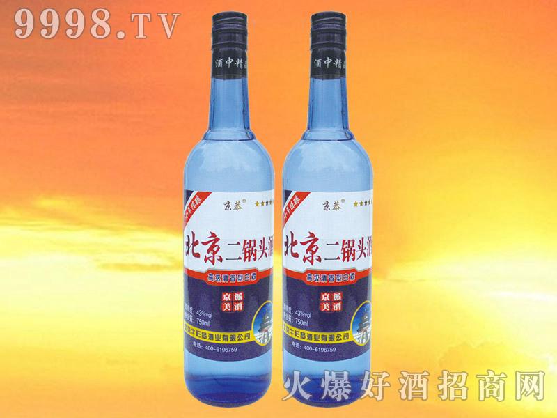 京恭北京二锅头酒750ml
