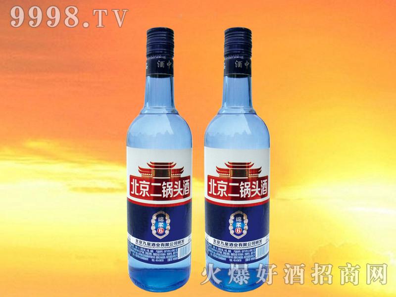 皇城门北京二锅头酒绵柔6 500ml