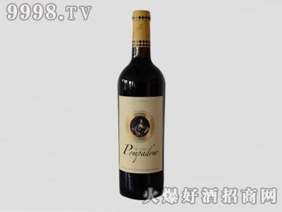 蓬帕杜夫人美乐干红葡萄酒-红酒招商信息