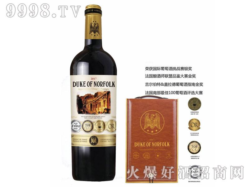 诺・福克公爵干红葡萄酒