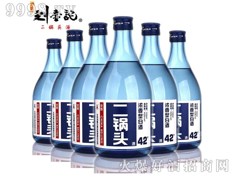刘壶记二锅头酒 750ml