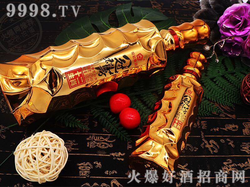 冠群芳十二生肖酒(金)42°500ml