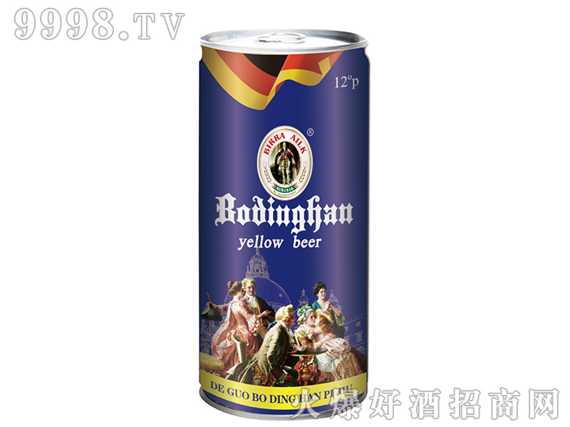 博丁罕啤酒 1L