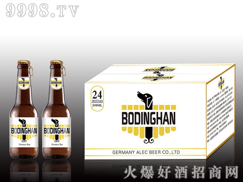 博丁罕啤酒 208ml单身狗