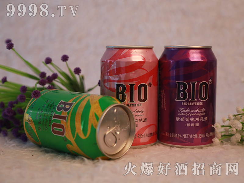BIO-罐装鸡尾酒展示