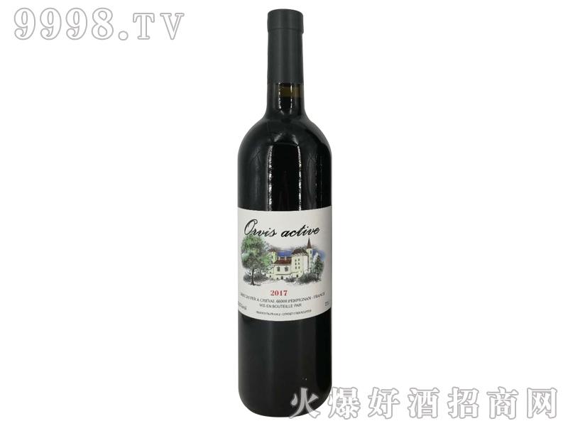 奥维斯动派古堡干红葡萄酒