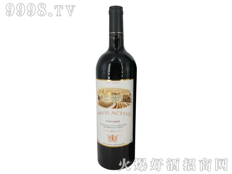 奥维斯动派骑士干红葡萄酒
