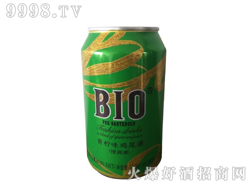 BIO罐装青柠味预调鸡尾酒甜果酒利口酒