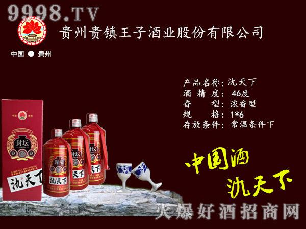 46度氿天下酒封坛酱香型白酒红盒