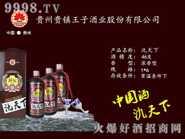 46度氿天下酒封坛酱香型白酒