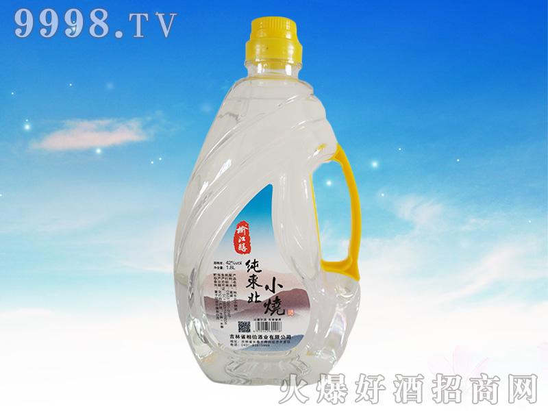 榆江醇纯东北小烧酒 1.8L42°
