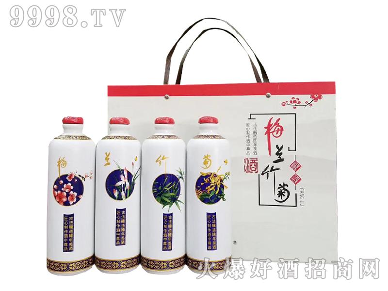 坛子酒-新款梅兰竹菊