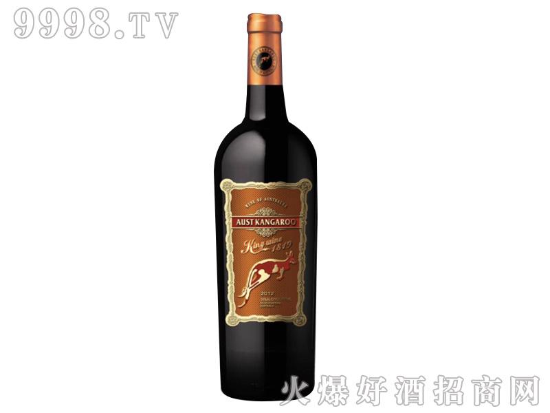 澳洲袋鼠1819酒王干红葡萄酒-红酒招商信息