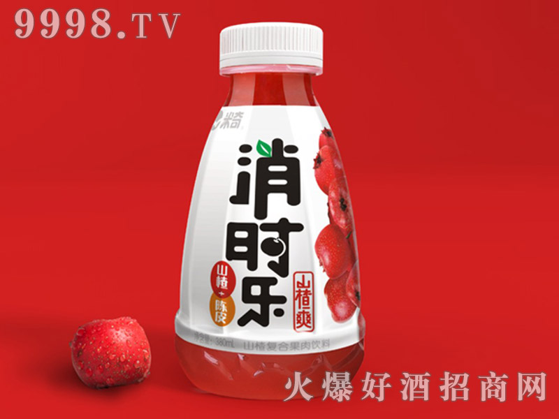 消时乐山楂爽-经典装380ml