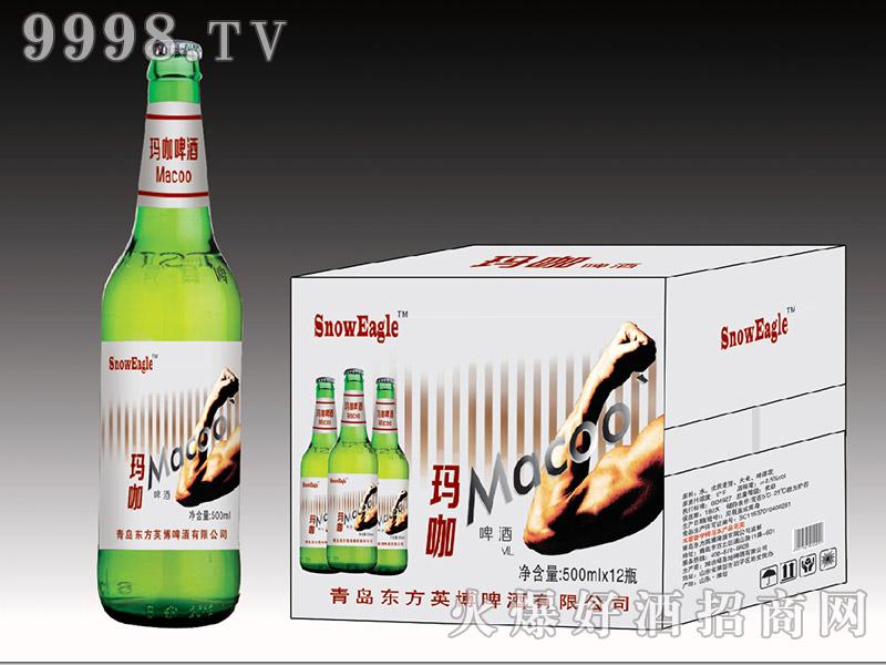 斯赫娜・阿德尔玛咖啤酒500ml×12瓶(绿瓶)