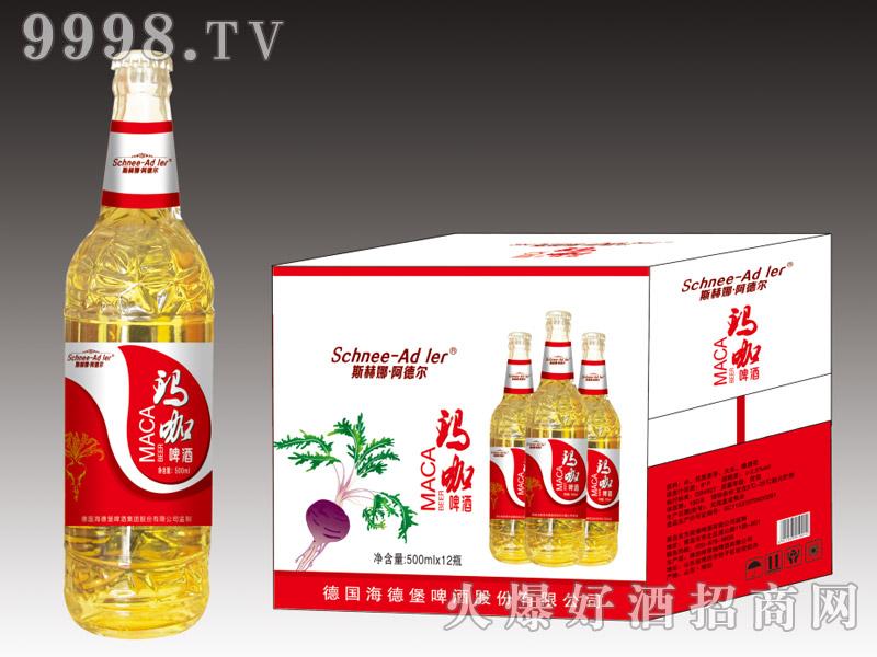斯赫娜・阿德尔玛咖啤酒500ml×12瓶(红)
