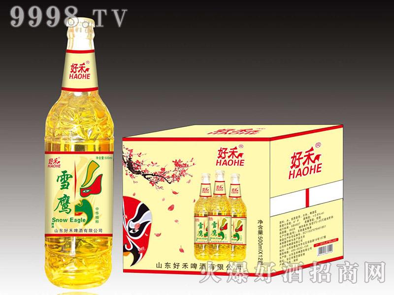 好禾啤酒500ml×12瓶(黄箱)
