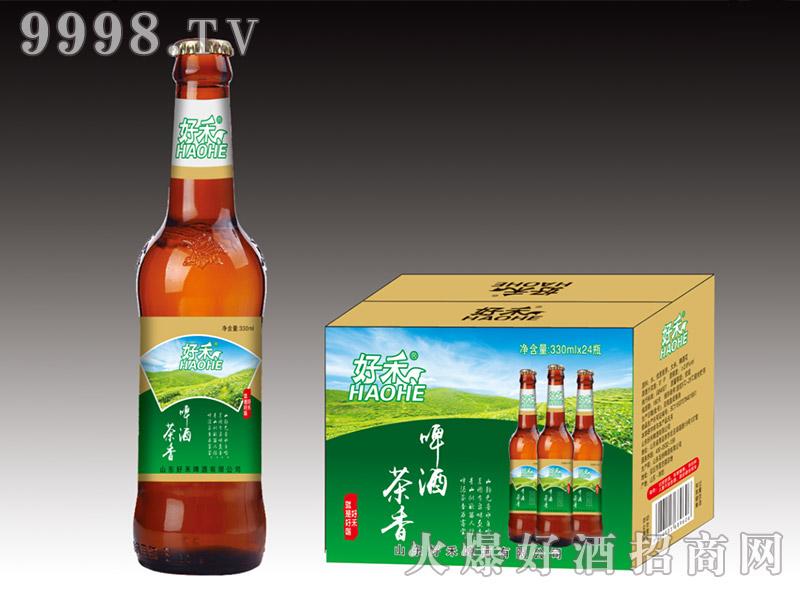 好禾茶香啤酒330ml×24瓶(棕瓶)