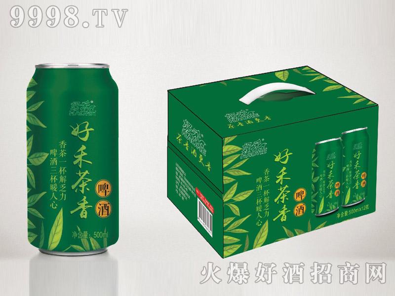 好禾茶香啤酒500ml×12罐