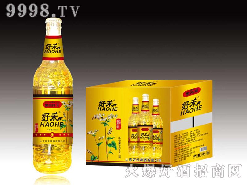 好禾黑苦荞啤酒500ml×12瓶-啤酒招商信息