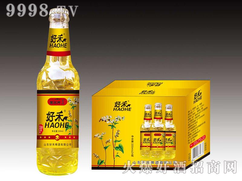 好禾黑苦荞啤酒330ml×24瓶