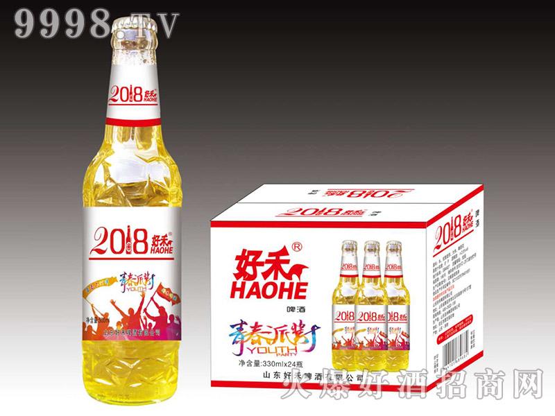 好禾青春派对啤酒330ml×24瓶