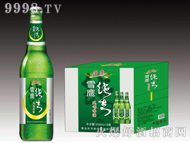 好禾纯生风味啤酒500ml×12瓶