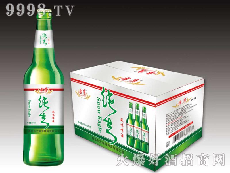 好禾纯生风味啤酒330ml×24瓶