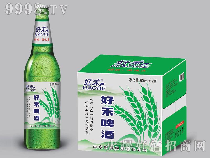 好禾啤酒500ml×12瓶(绿)